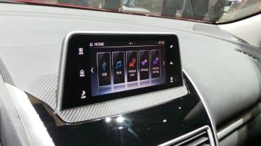 Mitsubishi Eclipse Cross SUV - Geneva infotainment