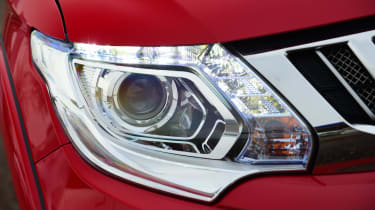 Mitsubishi L200 long-term test - front light detail
