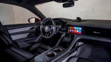 Porsche Taycan Cross Turismo - cabin