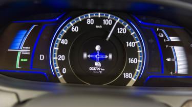 Honda i-MMD hybrid prototype - dial details