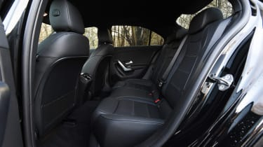 Mercedes-AMG A 35 Saloon - rear seats