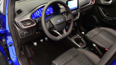 Ford Puma - studio dash