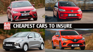Cheapest cars to insure - header