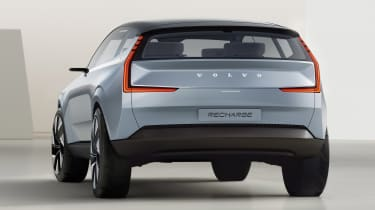 Volvo Concept Recharge - rear