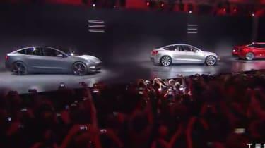 Tesla Model 3 reveal - unveil