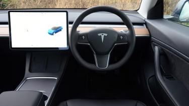 Tesla Model 3 Long Range - dash