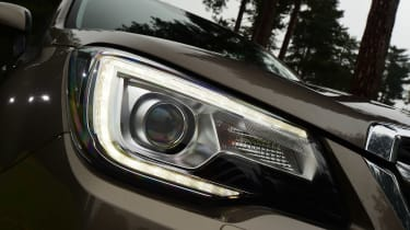 Subaru Forester - front lights