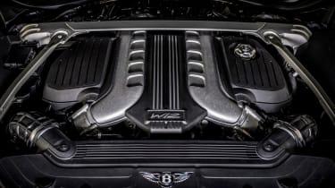 Bentley Continental GT Speed - engine
