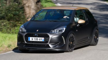 DS 3 Performance review 2016 - front cornering