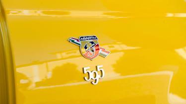 Abarth 595 Competizione - 595 badge