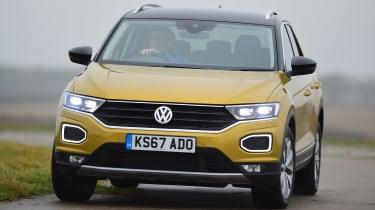 Volkswagen T-Roc - front action