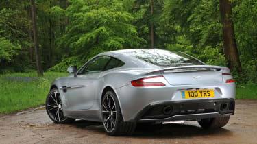 Aston Martin Vanquish Centenary Edition rear static