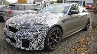 BMW M5 facelift - spyshot 8