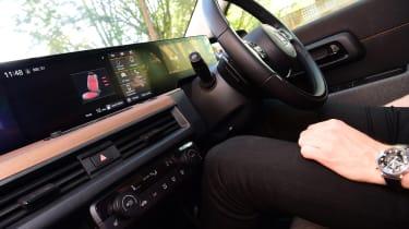 Honda e long termer first report screens