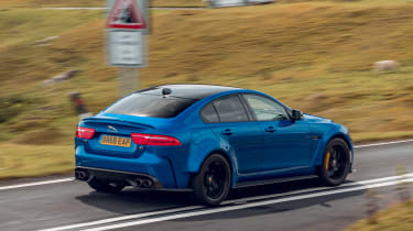 Jaguar XE Project 8 - rear