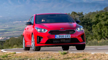 Kia Ceed GT - front action