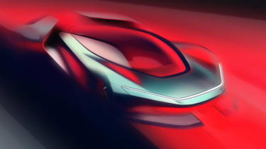 Automobili Pininfarina FP0 - front