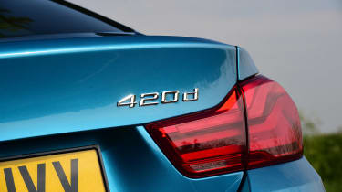 BMW 420d M Sport - 420d badge