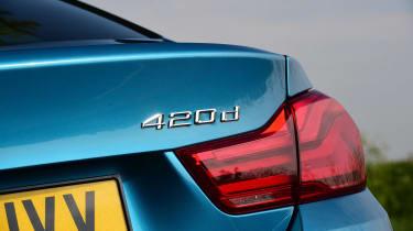 BMW 420d M Sport - 420d badge