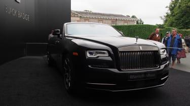Rolls-Royce Dawn Black Badge - Goodwood front static