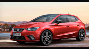 2017 SEAT Ibiza - leaked pic front