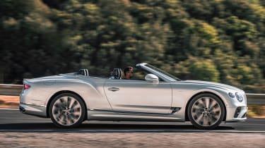 Bentley Continental GT Speed Convertible - side