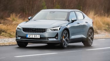 There's plenty of Scandi cool on offer with the Polestar 2, and it's not just on the surface. Volvo's sister electric performance brand has produced a plush executive car with 402bhp, capable of 0-62mph in 4.7 seconds, and a 292-mile range.