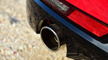 Peugeot 508 SW estate exhaust