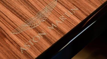 Aston Martin AM37S boat - Aston Martin logo