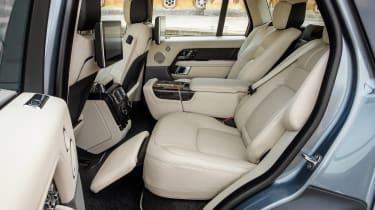 Range Rover PHEV - rear seats