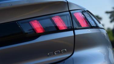Peugeot 508 Fastback - rearlights