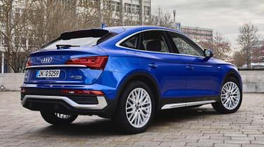Audi Q5 Sportback - rear static