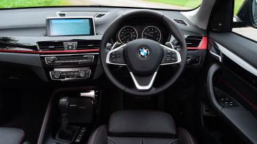 BMW X1 dashboard