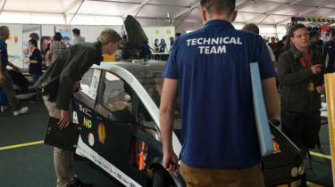 Flax fibre car - inspection