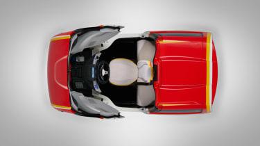 Shell Gordon Murray car roof