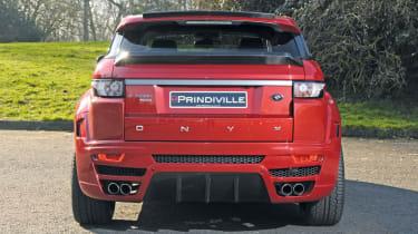 Prindiville Range Rover Evoque rear static