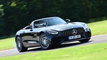 Mercedes-AMG GT Roadster - drift