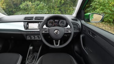 Skoda Fabia Estate - Interior