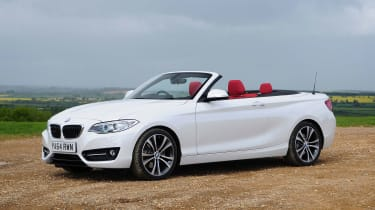 BMW 2 Series Convertible - front static