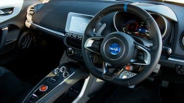 Alpine A110 Pure - interior