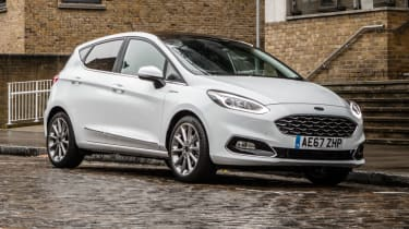 Ford Fiesta Vignale - parked front quarter