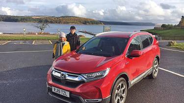 Honda CR-V: long-term test - children