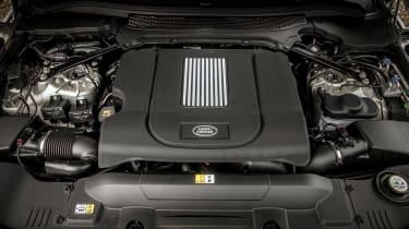 Range Rover Autobiography - engine