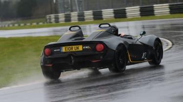 Zenos E10 review - rear cornering