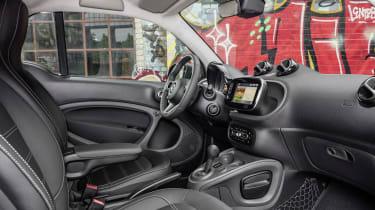 Smart ForTwo Electric Drive interior