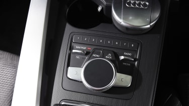 Audi A5 - interior detail