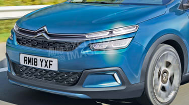 Citroen C4 - front detail (watermarked)