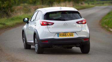 Mazda CX-3 - rear cornering