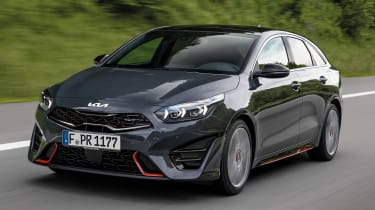 Kia Proceed GT - front