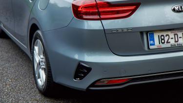 Kia Ceed SW - rear detail